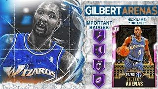 PINK DIAMOND GILBERT ARENAS GAMEPLAY! THE BEST POINT GUARD IN NBA 2k20 MyTEAM