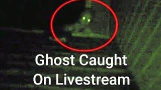 Ghost Caught on Livestream Video | Ghost Caught on Camera in Haunted Church