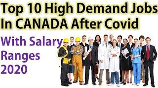 Top 10 High Demand Jobs In Canada During Pandemic | Canada Couple