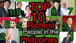 TOP 10 RICHEST PEOPLE IN THE PHILIPPINES as of May 30, 2020