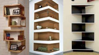 Top 100 corner wall shelves designs for room wall decorating ideas 2020