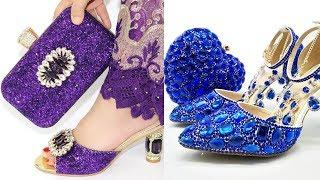 [Top 10]  Luxury Women Wedding Shoes With Matching Bag || Really World class Wedding Shoes
