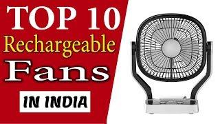 Top 10 Best Rechargeable Fans In India 2020 With Price