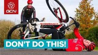Top Ways You Might Crash Your Road Bike | Tips For Riding Safely and Staying Upright