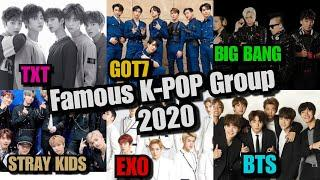 The Top 10 Most Popular BoyBand Group / Most Famous K-pop Group 2020