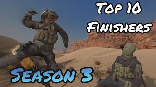 TOP 10 Finishing Moves in Season 3   Black Ops Cold War