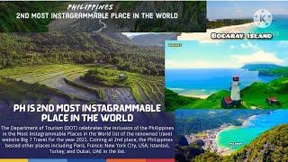 PHILIPPINES IS 2ND MOST INSTAGRAMMABLE PLACE IN THE WORLD | TOP 10 BEST PLACE IN THE WORLD| MARKRAY