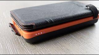 SOLAR Power Bank, HILUCKEY 20000mah Portable Charger for your TECH! Power & light wherever you go!