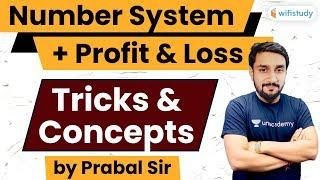 Number System, Profit & Loss Tricks & Concepts | Maths by Prabal Sir