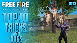 Top 10 New Tricks In Free Fire | New Bug/Glitches In Garena Free Fire #113