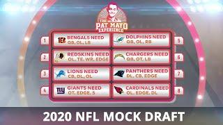 2020 NFL Mock Draft Results — Part One: Picks 1-16, Virtual Draft Issues, Teams Trading Up