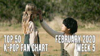Top 50 K-Pop Songs Chart - February 2020 Week 5 Fan Chart