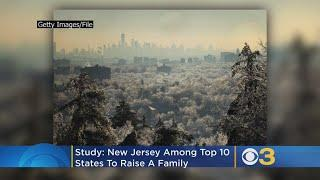 Study: New Jersey Among Top 10 States To Raise A Family