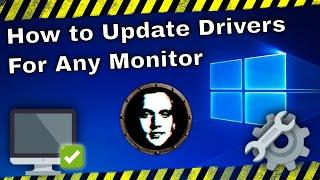How to Install/Update Drivers for Your Monitor, Screen or Gaming Display - Fix Monitor Driver Issues