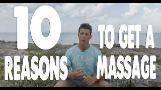 Top 10 CONDITIONS People See a Massage Therapist For | Massage Therapy
