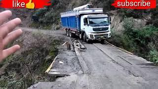 #TOP.10 most dangerous road in world dangerous trip for passenger driver on mountain road
