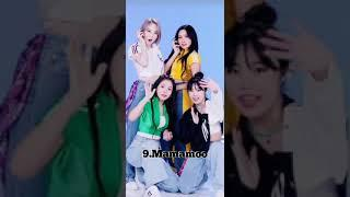 Top 10 most famous K-pop group in India