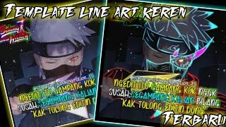 Template Double background line art keren|Terbaru|Part 32