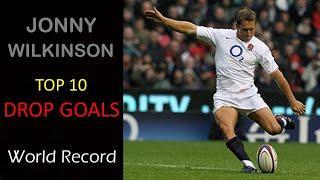 Jonny Wilkinson Top 10 Drop Goals.....Left Foot & Right Foot