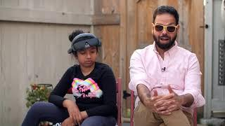 Zara's Story | 10-year-old girl living with vision loss discovers vision enhancing technology