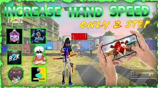 How To Increase Your Hand Speed  In Free Fire | Top 5 Unique Tips and Tricks |Raistar Movement Speed