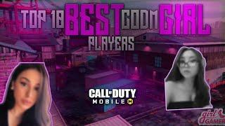 TOP 10 BEST GIRL COD MOBILE PLAYERS!