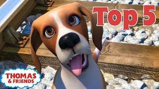 Thomas & Friends UK™ | Top 5 Animals! | Best of Thomas Highlights | Thomas Top 5 | Kids Cartoon
