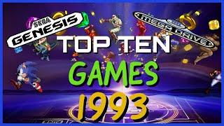 Top 10 SEGA Genesis / Mega Drive Games 1993 / The History of Video Games