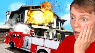MICHAEL'S HOUSE BURNS DOWN in GTA 5!