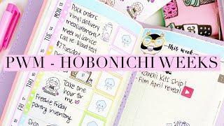 Plan With Me - Hobonichi Weeks