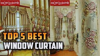 Top 5 Best Living Room window curtain - 2020