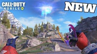 *New* Alien Building In Battle Royale! Black Hole Event! Call Of Duty Mobile Season 3!
