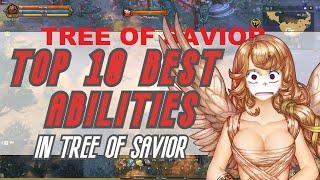 Top 10 Best Skills In Tree Of Savior