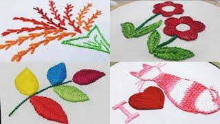 Basic Hand Embroidery : 12. Top 10 Stitches Tutorial