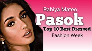 Rabiya Mateo Pasok sa Top 10 Best Dress para sa Fashion Week ng Miss Universe.