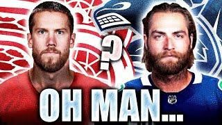 NHL Rumours: Detroit Red Wings Want Jacob Markstrom, Braden Holtby To Put Vancouver Canucks On List?