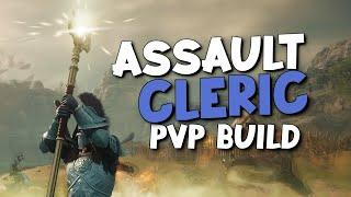 """New World Great Axe / Life Staff ⚔ """"Assault Cleric"""" PvP Build ⚔ 1vX PvP Build"""