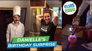 Watch Danielle's Family Surprise Her With The Best Birthday 'Night Out' | Elvis Duran Exclusive