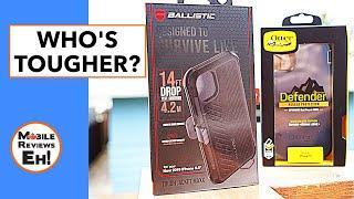The TOUGHEST? OtterBox Defender VS Ballistic Tough Jacket MAXX - iPhone 11 Tough Case Comparison