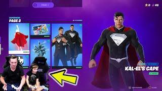 How To Unlock ALL The FREE Superman DC Rewards! Unlocking CLARK KENT SHADOW Fortnite Skin & MORE!