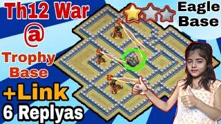 Th12 New Amazing Inferno + Popular War Base | New Popular Inferno War Base |  6 Replyas proof +Link