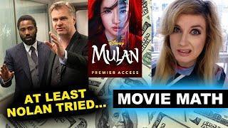 Tenet Opening Weekend Box Office $20.2, Mulan hits Disney Plus