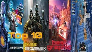 Top 10 android best graphic high quality games