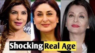 Shocking Real Age Of Top 10 Bollywood Actresses | You Will Shock !