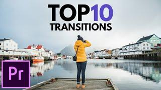 The Top 10 Premiere Pro Transitions You Get For FREE