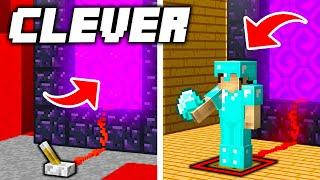 19 Ways To Steal Diamonds That Only 200 IQ Players Can Do in Minecraft!