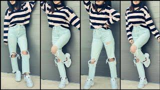 Top 10 Jeans Top Ideas || 2020-2021 || Beautiful Girls Jeans Dresses ||