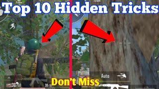 Top 10 Hidden Tricks in Pubg Mobile lite | Pubg top 10 ultimate Tricks 2020 | Pubg lite Secret Trick