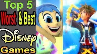 5 Worst/Best Disney Games