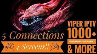 Top IPTV Service Review 2020 1000+ Channels Quad Screen,PPV,Sports Pkgs
